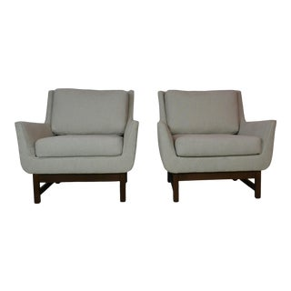 Mid-Century Club Chairs S/2 For Sale