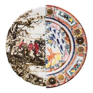 Seletti, Hybrid Eusapia Dinner Plate, Ctrlzak, 2011/2016 For Sale