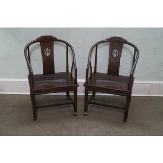 Henredon Elm Wood Dining Chairs - Set of 8 Preview