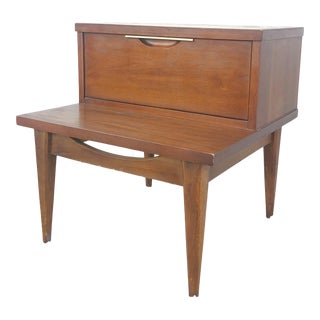 Mid Century Modern Nightstand by Kent Coffey For Sale