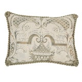 Image of Small Fortuny Fabric Pillow For Sale