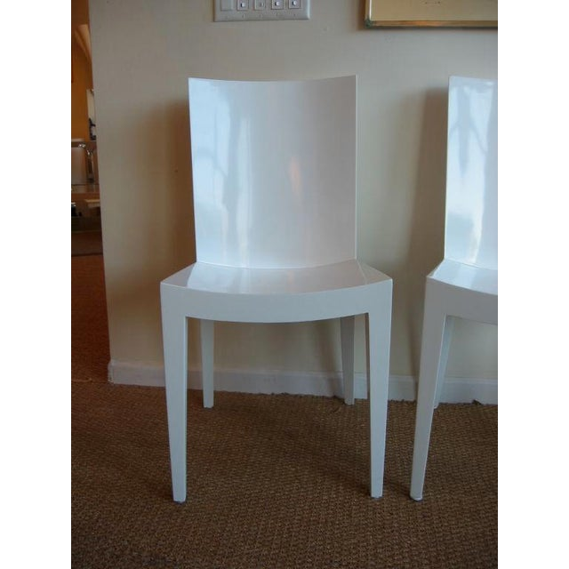 "Pair of Karl Springer ""JMF"" Chairs - Image 4 of 7"