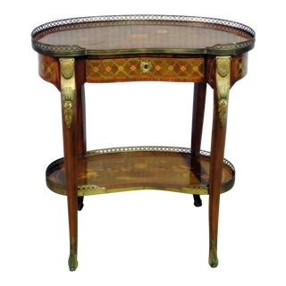 Louis XV Style Accent Table Manner of Forest For Sale