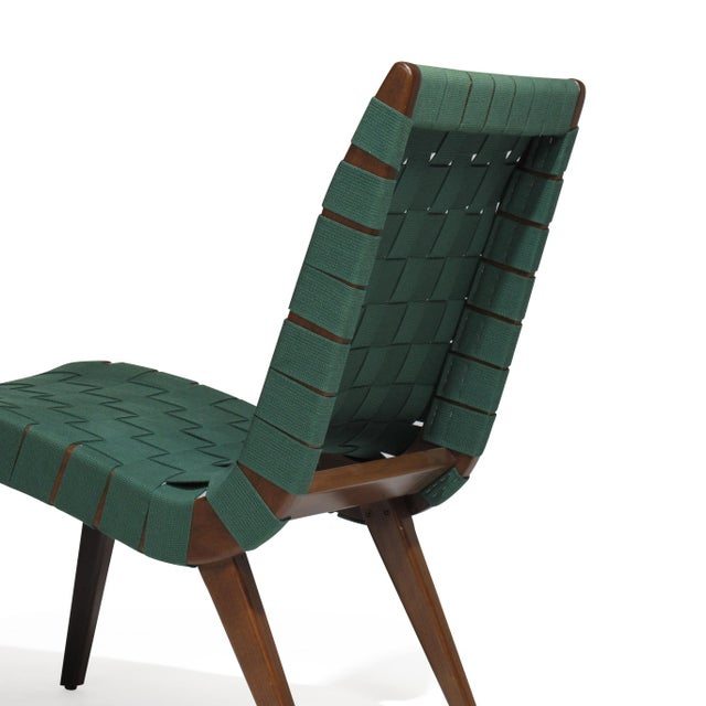 Wood Jens Risom for Knoll Studio Lounge Chairs For Sale - Image 7 of 11