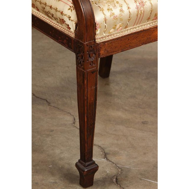 Hollywood Regency Set of Four 18th Century French Chairs For Sale - Image 3 of 7
