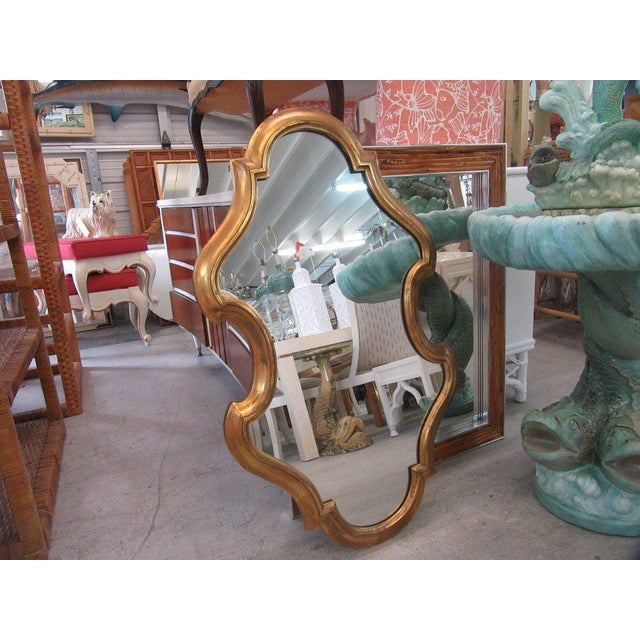 Free Form Hollywood Regency Mirror - Image 4 of 5