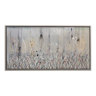 """Original Abstract Painting, """"Steel Harvest"""" by Bruce Rubenstein For Sale"""