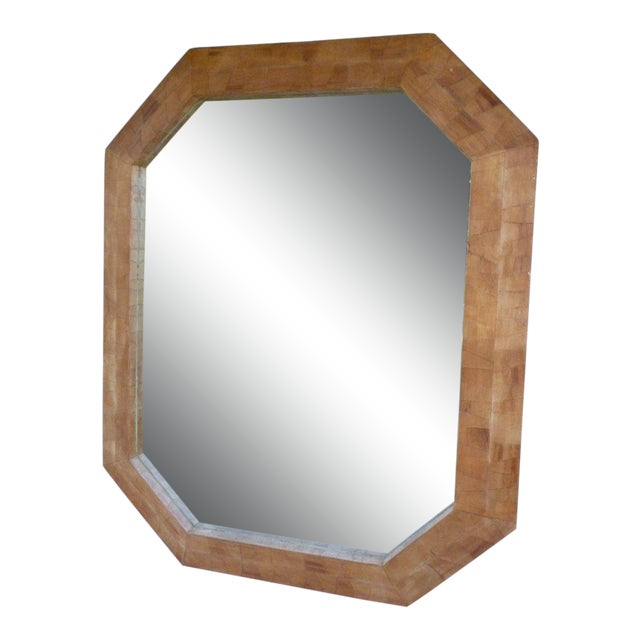 1970s Modern Octagonal Mirror For Sale