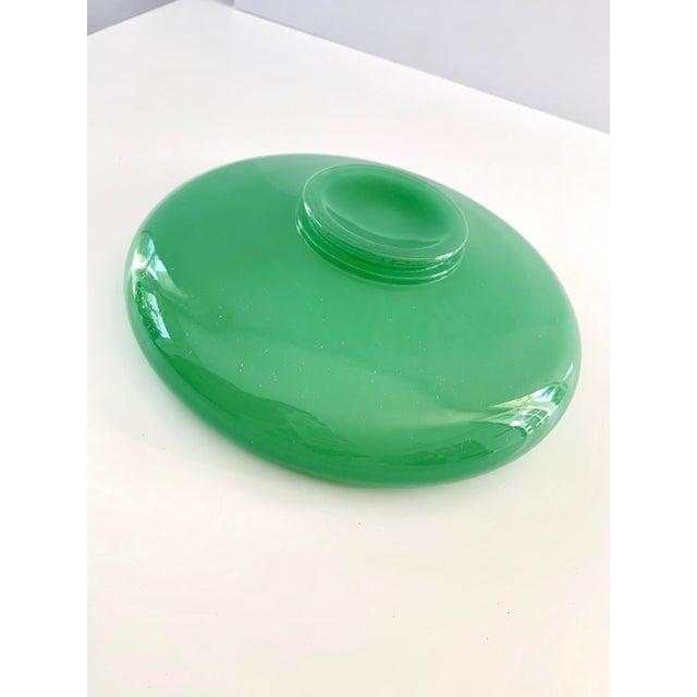 Glass Vintage Green Jadeite Glass Bowl For Sale - Image 7 of 8