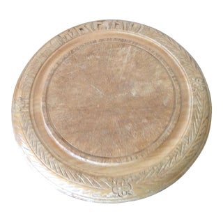 English Wooden Bread Board For Sale