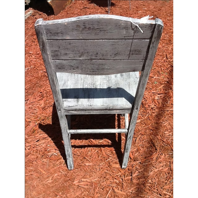Antique Shabby Chic Chair - Image 5 of 6