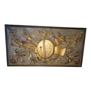 Louis XVI Architectural Panel For Sale