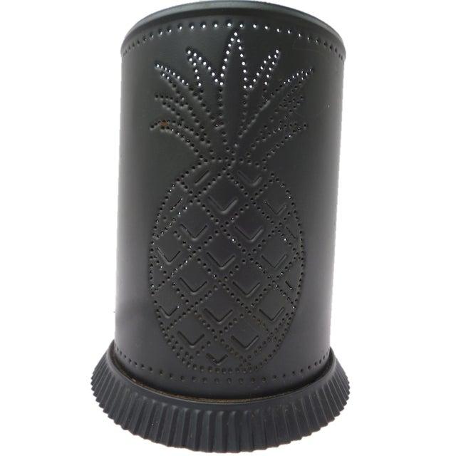 Black Steel Pineapple Table Lamp - Image 2 of 6