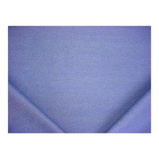 Handsome Kravet 28768 Jumper Lagoon Blue Putty Herringbone Upholstery Fabric - 8-3/4y For Sale