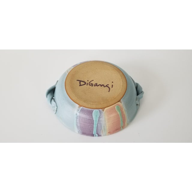 Mid-Century Modern Frank Digangi Art Pottery Bowl . For Sale - Image 3 of 10