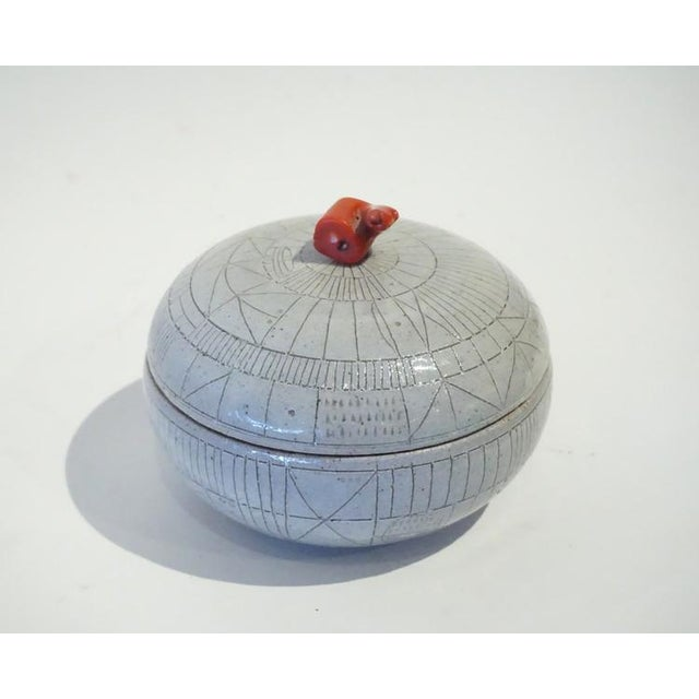 Modern Scribed Lidded Box by Heather Rosenman For Sale - Image 3 of 5
