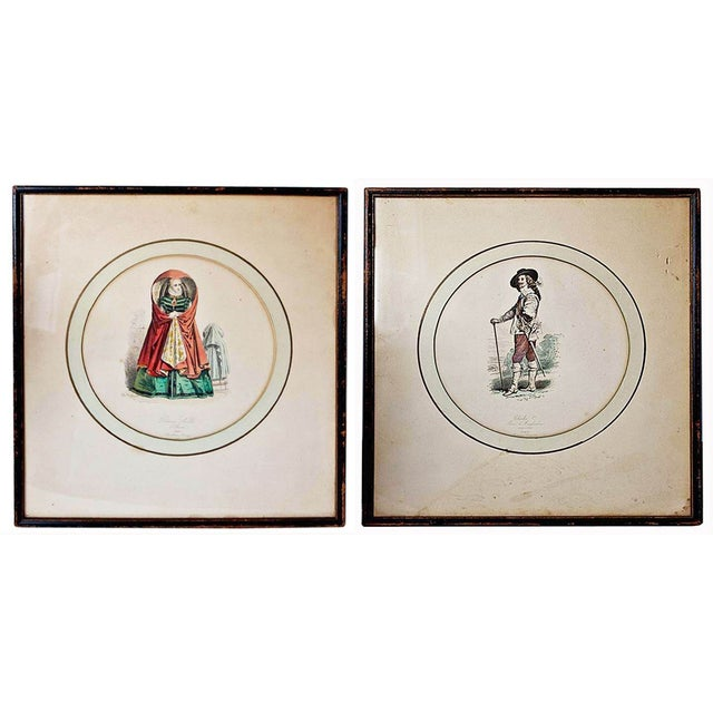 Vintage French Illustration Prints - A Pair - Image 2 of 9