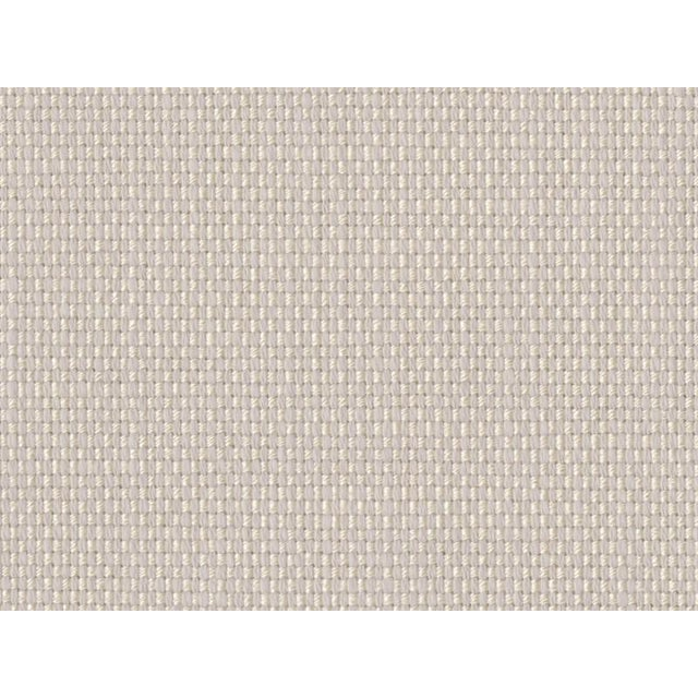 Contemporary Perennials Ash Fabric Tisket Tasket & Backed for Upholstery- 28 Yards For Sale - Image 3 of 3