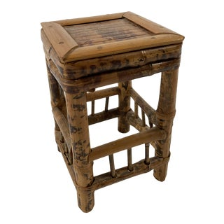 Tortoise Rattan Stand For Sale