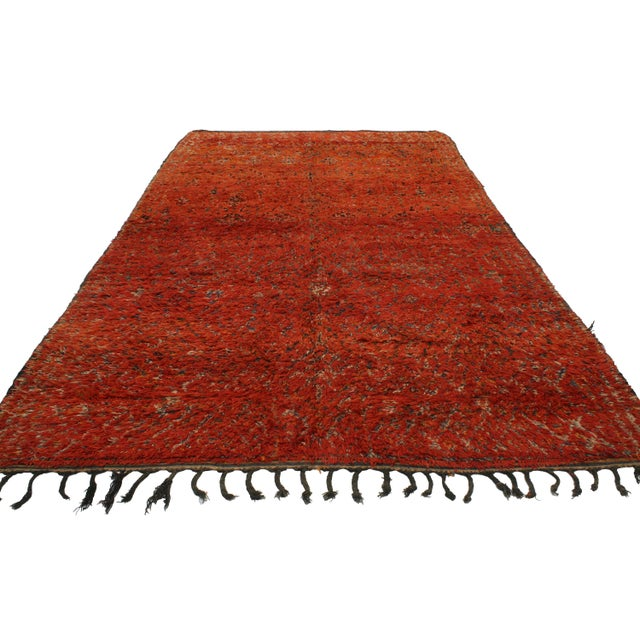 Berber Moroccan Rug with Tribal Flair -- 6'8 x 11'6 - Image 3 of 3