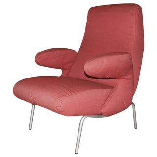 "Carboni for Arflex ""Dolphin"" Lounge Chair For Sale"