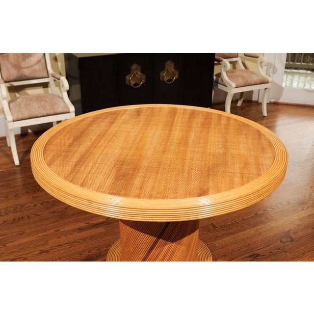 Bielecky Brothers Elegant Circular Center or Dining Table by Bielecky Brothers For Sale - Image 4 of 10