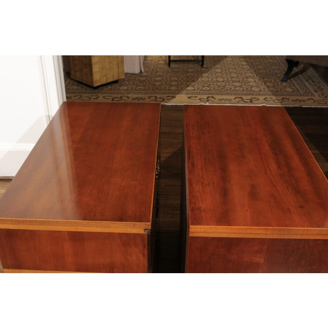1950s Chic Restored Pair of Michael Taylor Style Chests, Circa 1957 For Sale - Image 5 of 13