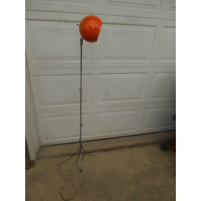 Mid Century Modern Atomic Eyeball Floor Lamp - Image 2 of 5