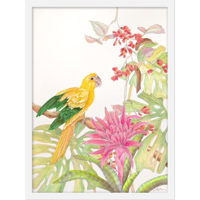 """Contemporary Medium """"My Favorite Perch"""" Print by Allison Cosmos, 18"""" X 24"""" For Sale - Image 3 of 3"""