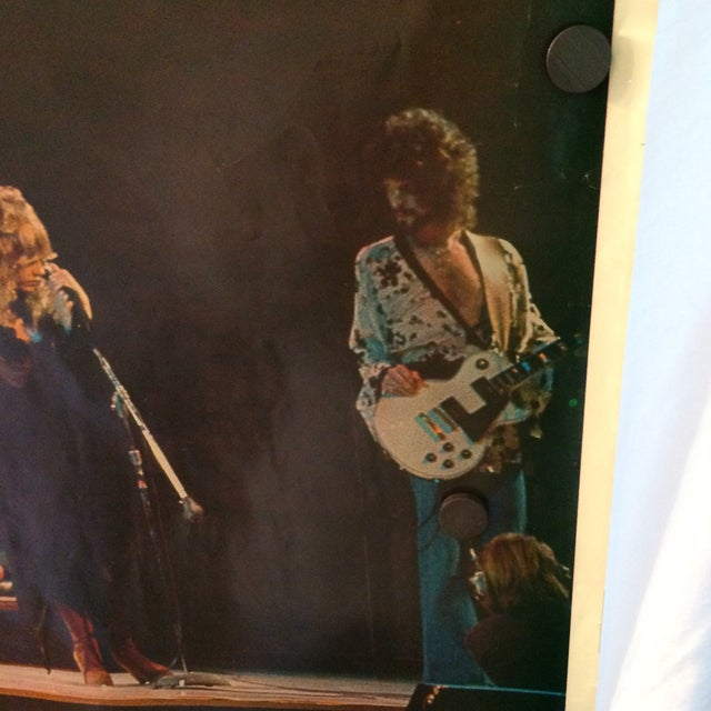 Vintage Fleetwood Mac Poster 1977 Germany Tour For Sale - Image 9 of 11