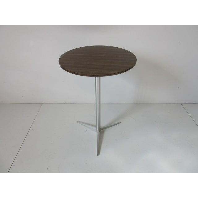 Brown Thonet Drink / Cigarette Side Table For Sale - Image 8 of 8