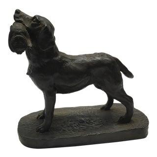 1970s Vintage English Hunting Dog Figurine For Sale