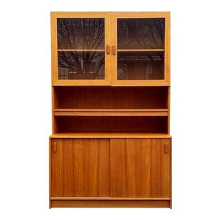 Poul Hundevad-Style Danish Modern Teak Bookcase/Cabinet