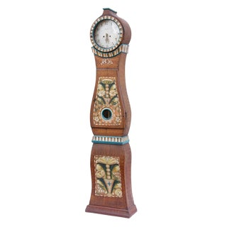Antique Swedish Mora Clock, Circa 1831 For Sale