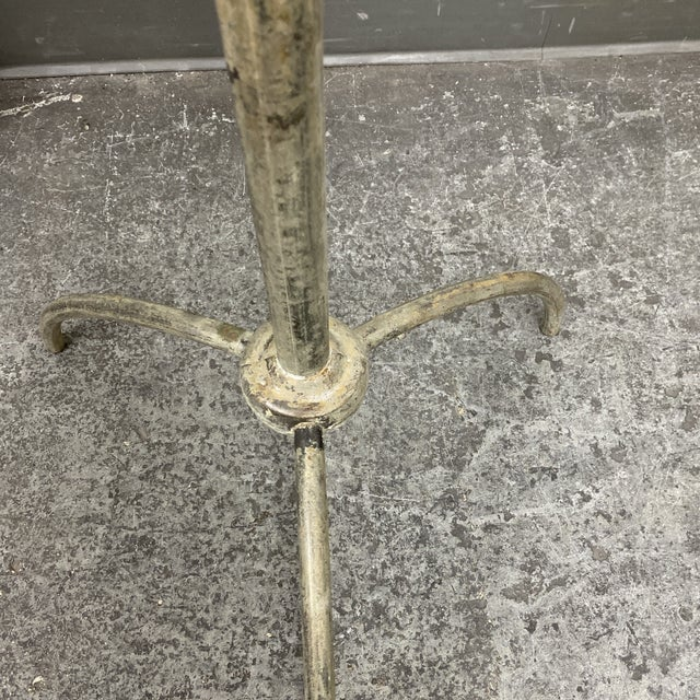 Brass Finish Metal Coat Rack For Sale In San Francisco - Image 6 of 7