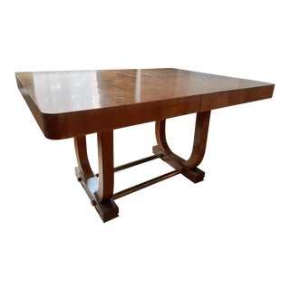 Antique Art Deco Dining Table For Sale