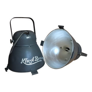 One 1950s Vintage Kliegl Brothers Stage Light For Sale
