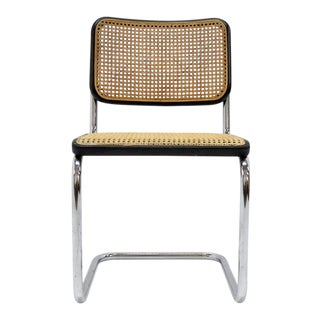 1970s Vintage Marcel Breuer S32 Side Chair For Sale