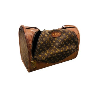 Louis Vuitton Vintage Pet Carrier For Sale