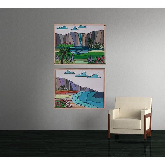 """""""Hawaiian Beach"""" Block Art by Kris Gould - Image 4 of 5"""