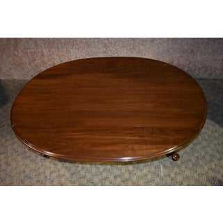 Vintage Ethan Allen Queen Anne Style Cherry Drop Leaf Coffee Table Preview