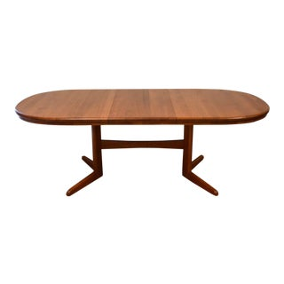 Vintage Used Teak Dining Tables Chairish - Solid teak dining table for sale
