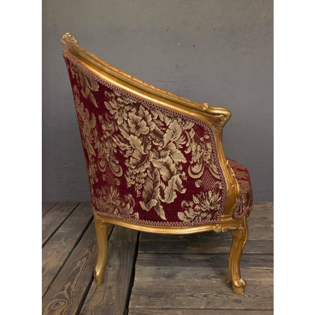 Gilt Rococo Style Marquise - Image 3 of 10