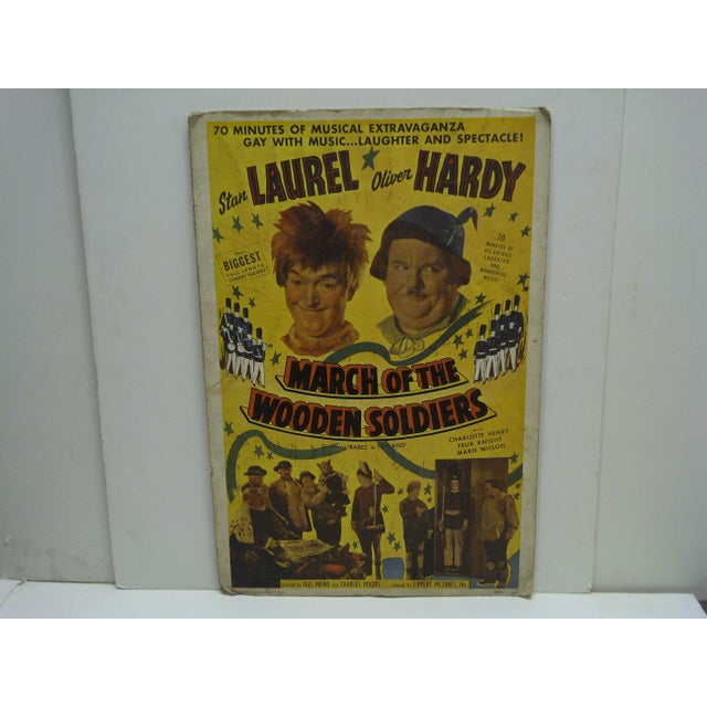 "This is a Reprint of the Original -- Laurel & Hardy -- ""March Of The Wooden Soldiers"" Movie Poster -- The Poster Is..."