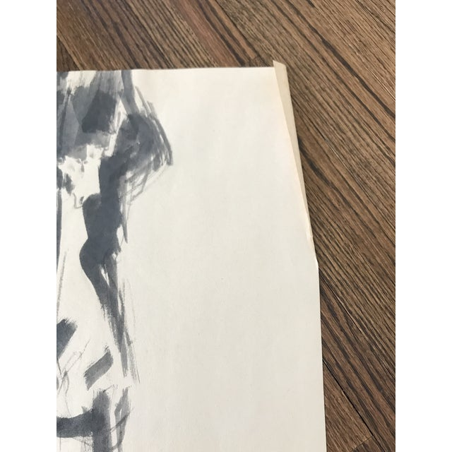 Nude Watercolor Painting For Sale - Image 4 of 6