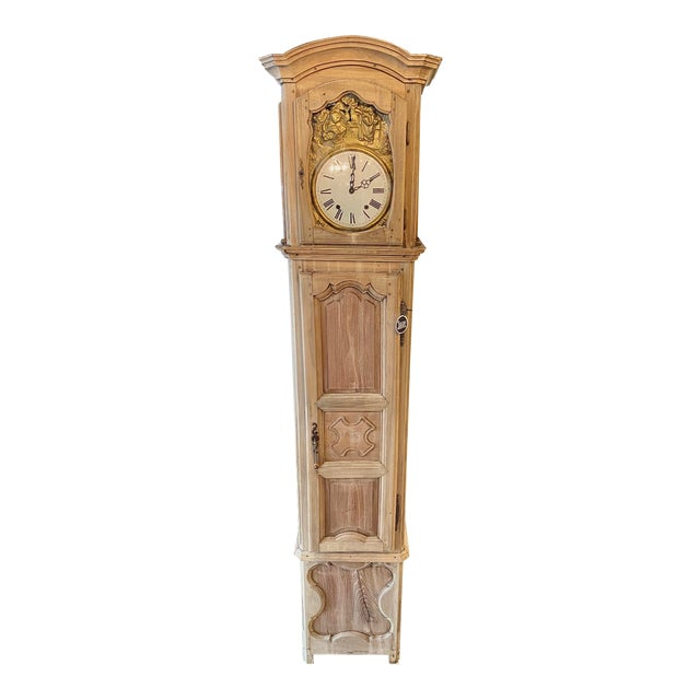 1830 French Provincial Grandfather Clock For Sale