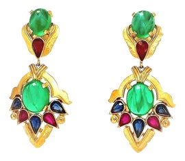 Image of Emerald Earrings
