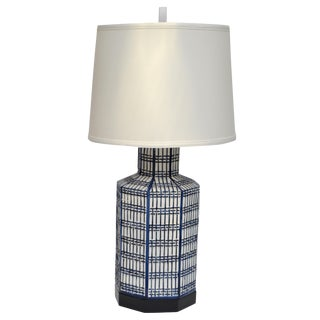 Chapman Ceramic Table Lamp Chinoiserie For Sale