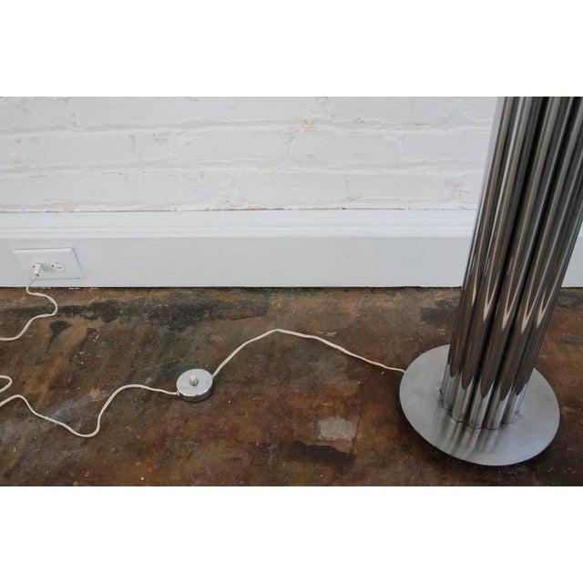 Metal George Kovacs Chrome Tubular Floor Lamp For Sale - Image 7 of 8