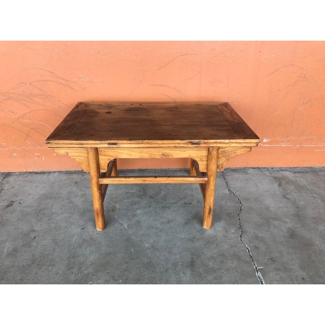Vintage Chinese Low Table For Sale - Image 4 of 8